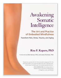 The cover of Dr. Kaparo's book, Awakening Somatic Intelligence